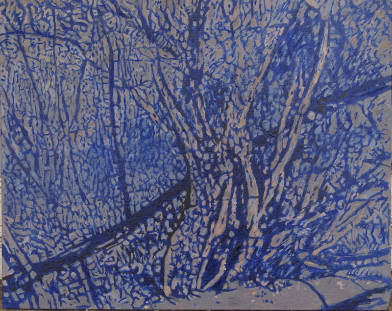 Angela Rumble - Blue woodland